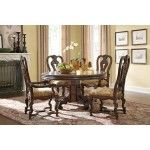 ART Furniture - Capri Single Pedestal Dining Room Set - ART-187225-2106-BS-TP-ROOM  SPECIAL PRICE: $2,116.00