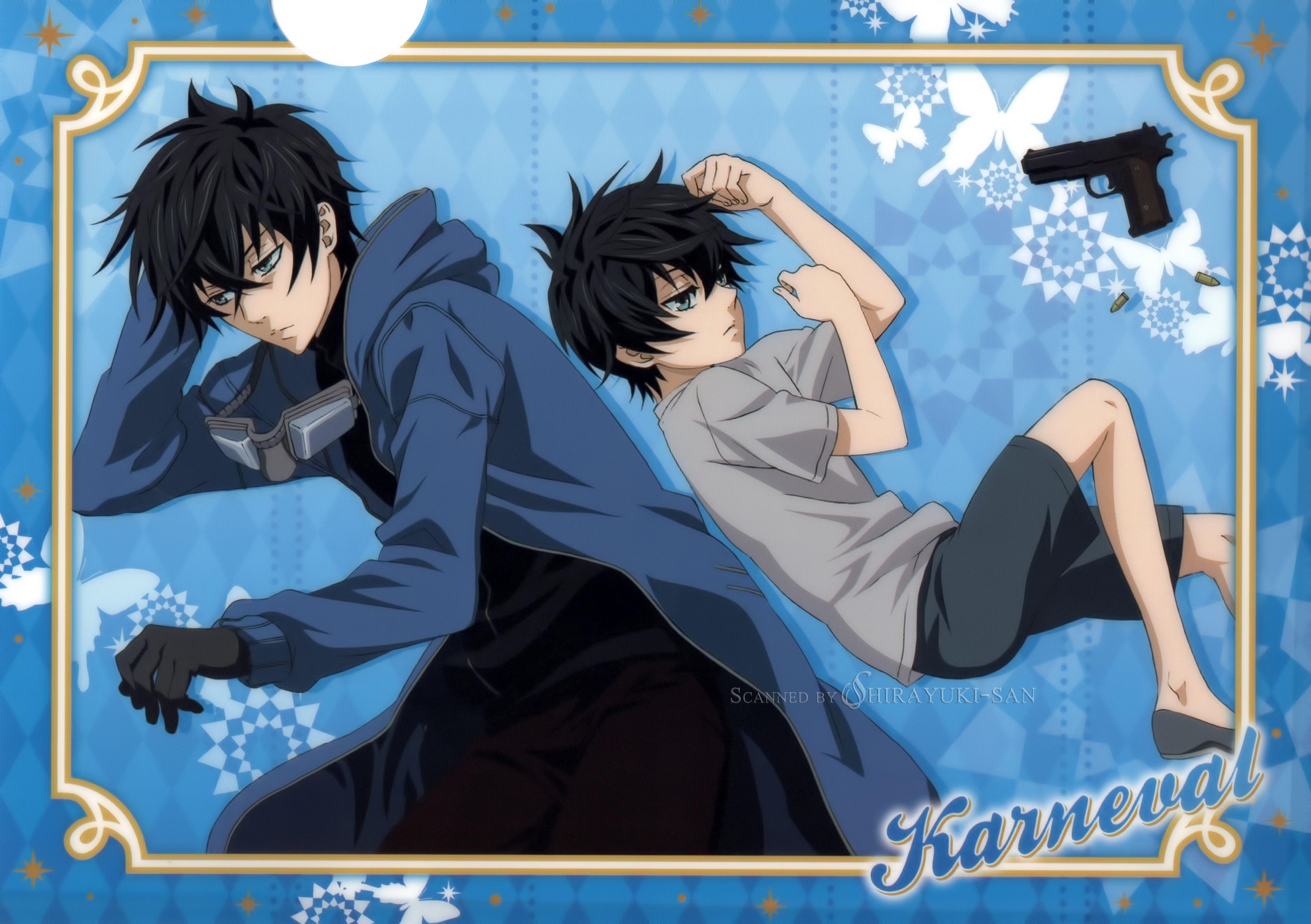 Karneval Gareki Anime, Cute anime guys, Anime chibi