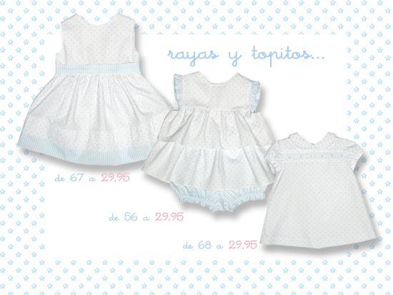 www.pepaonline.com Vestidos de Fina Ejerique en nuestra oferta celeste. Rayas y topitos... ¡ideales y muy rebajados! http://bit.ly/1mtyXqF