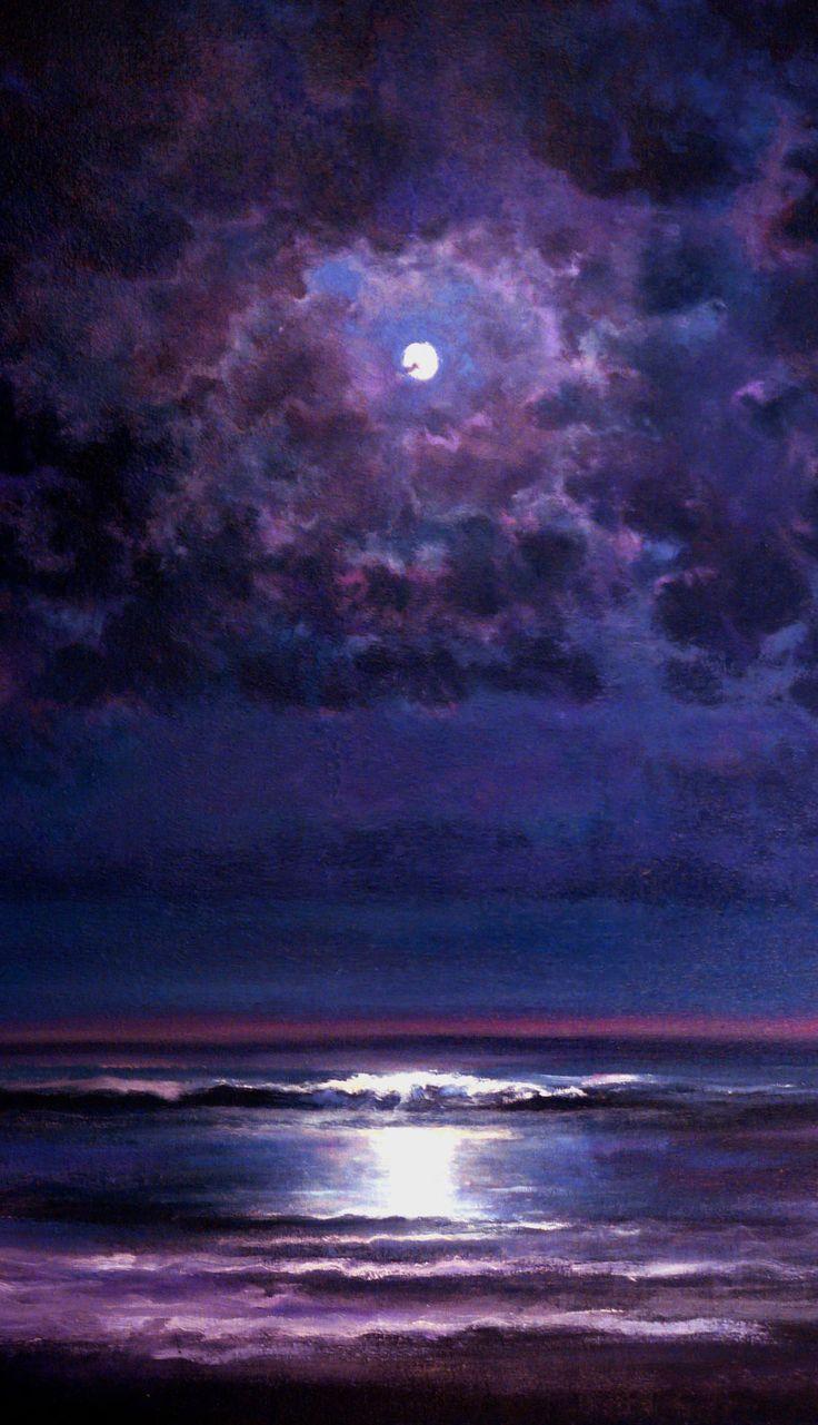 """Time and Tide"" Artist: Keith P Burnett; Oil 2004 Painting saatchiart.com"