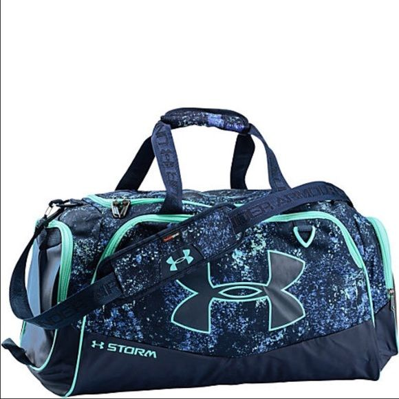 UA Storm Duffel Bag BNWOT, super cool design, perfect condition. Under Armour Bags Backpacks