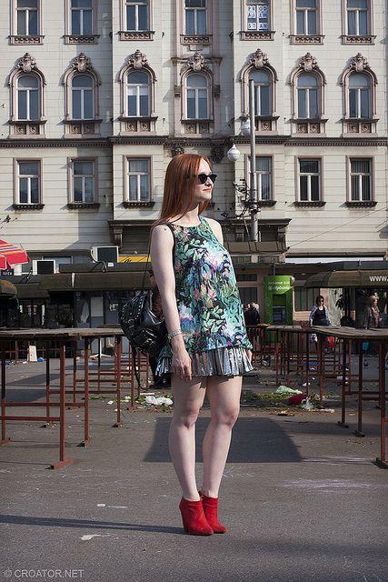 Barbara On The British Square Streetstyle Zagreb Street Style Style Fashion