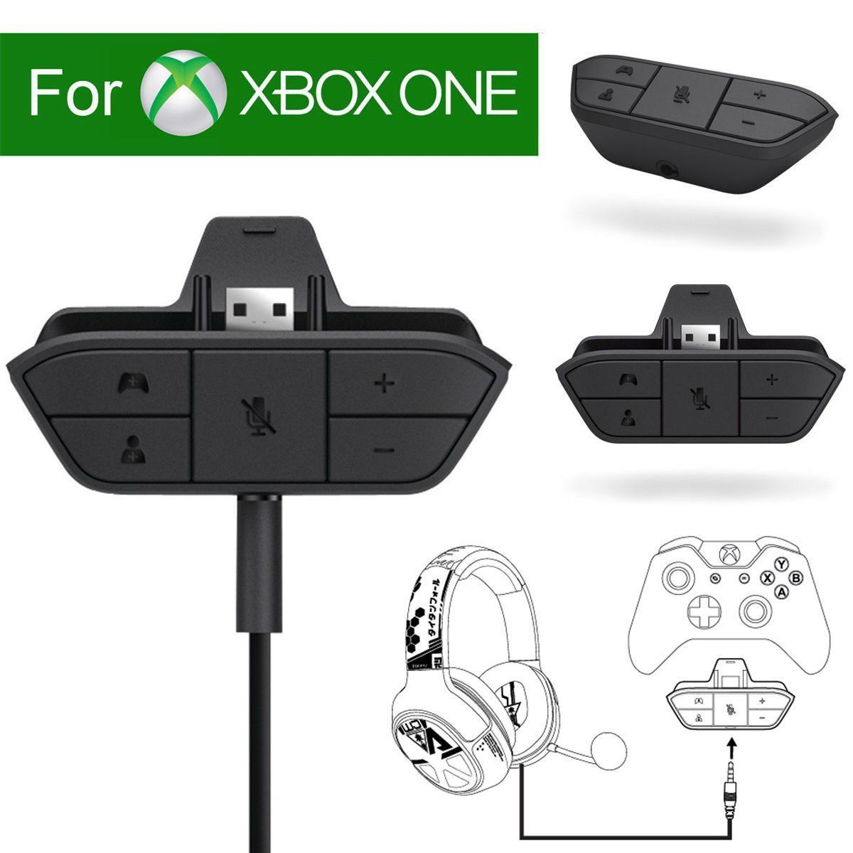 Specially Designed For Xbox One Controller To Connect Your Headset With A 3 5mm Audio Jack Xbox One Headset Headset Xbox One Controller