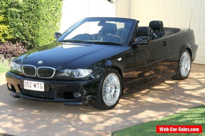 2005 BMW 330CI E46 MY2005 High-line Steptronic Black Sapphire Automatic 5sp A #bmw #330ci #forsale #australia