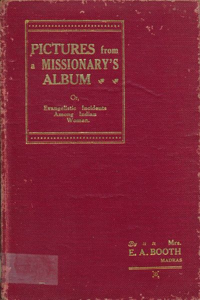Winifred Booth [1874-1942] established a mission and was active in Zenana work, serving alongside her husband Ernest A. Booth [1873-1939] in India. In this book Mrs Booth recounts some of her experiences. There is a helpful article about the couple on this website. My thanks to Redcliffe College for providing a copy of this book ... Read more...