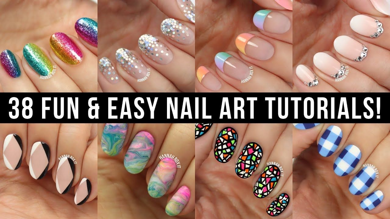 New Nail Art 2018 Fun Easy Nail Art Compilation Youtube With