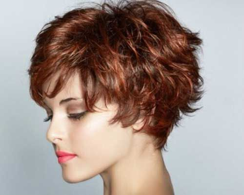 Cute Short Shag Hairstyles For Women