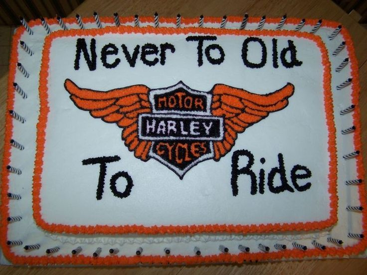 harley davidson birthday cakes Google Search 70th Birthday