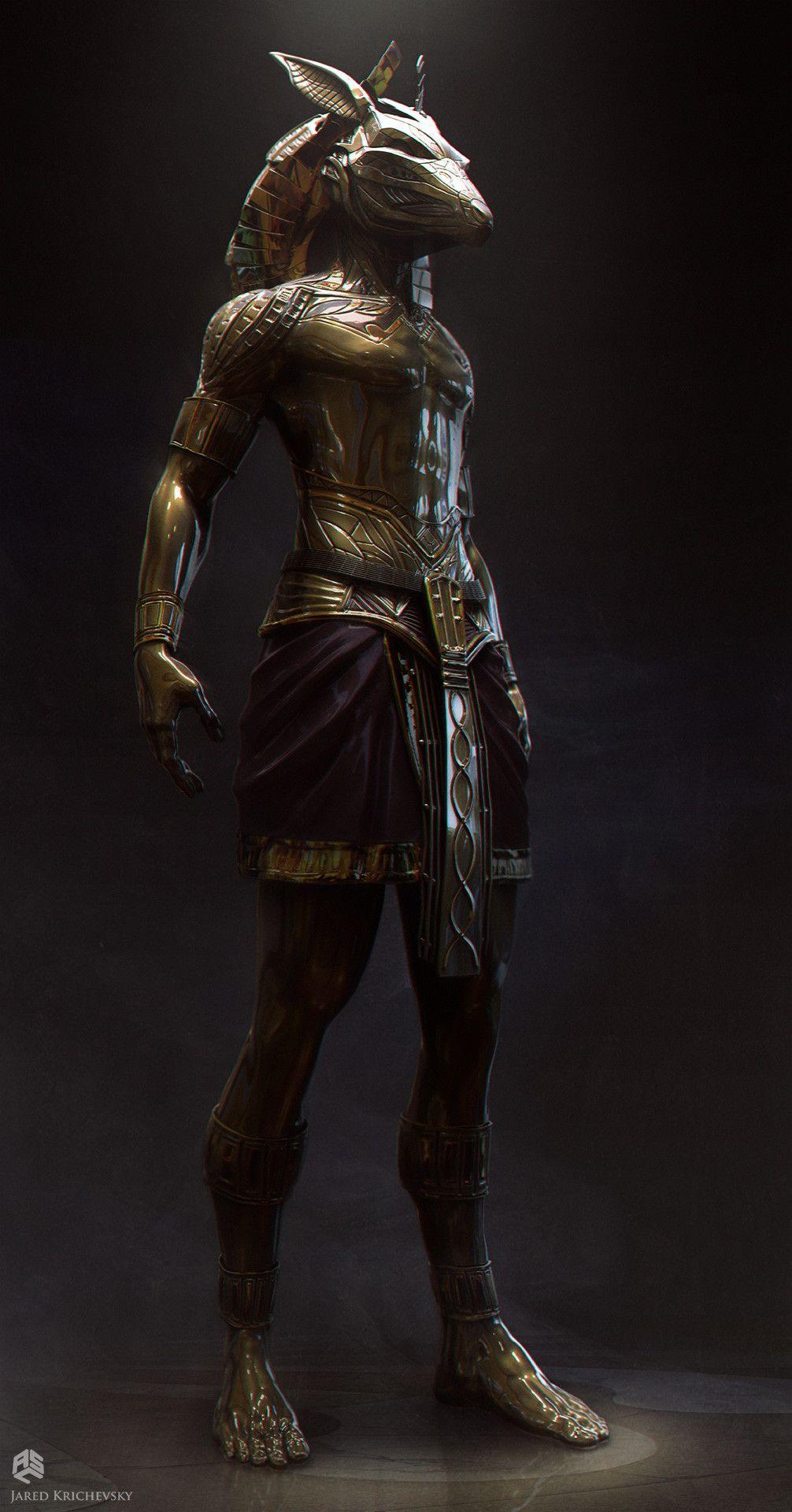 ArtStation - Gods of Egypt - Set, Jared Krichevsky | GB ...