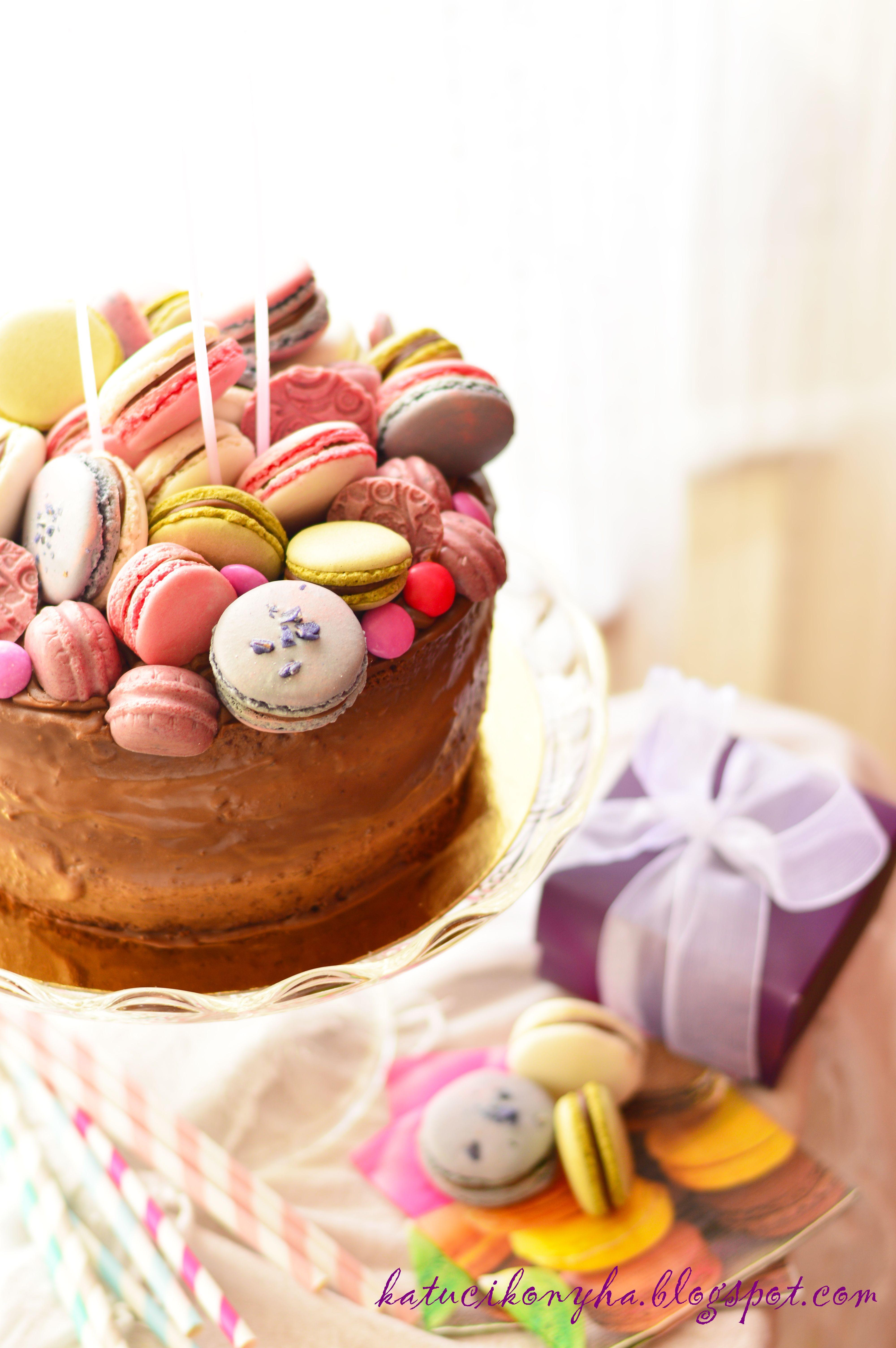 Macaron Cake Katucikonyhablogspothu 2013 05