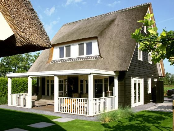 Overdekt terras landelijke villa building design for Landelijke villa bouwen