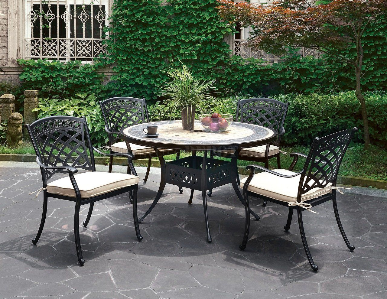 Charissa Outdoor Furniture Patio Table Set Cm Ot2125 Round Patio