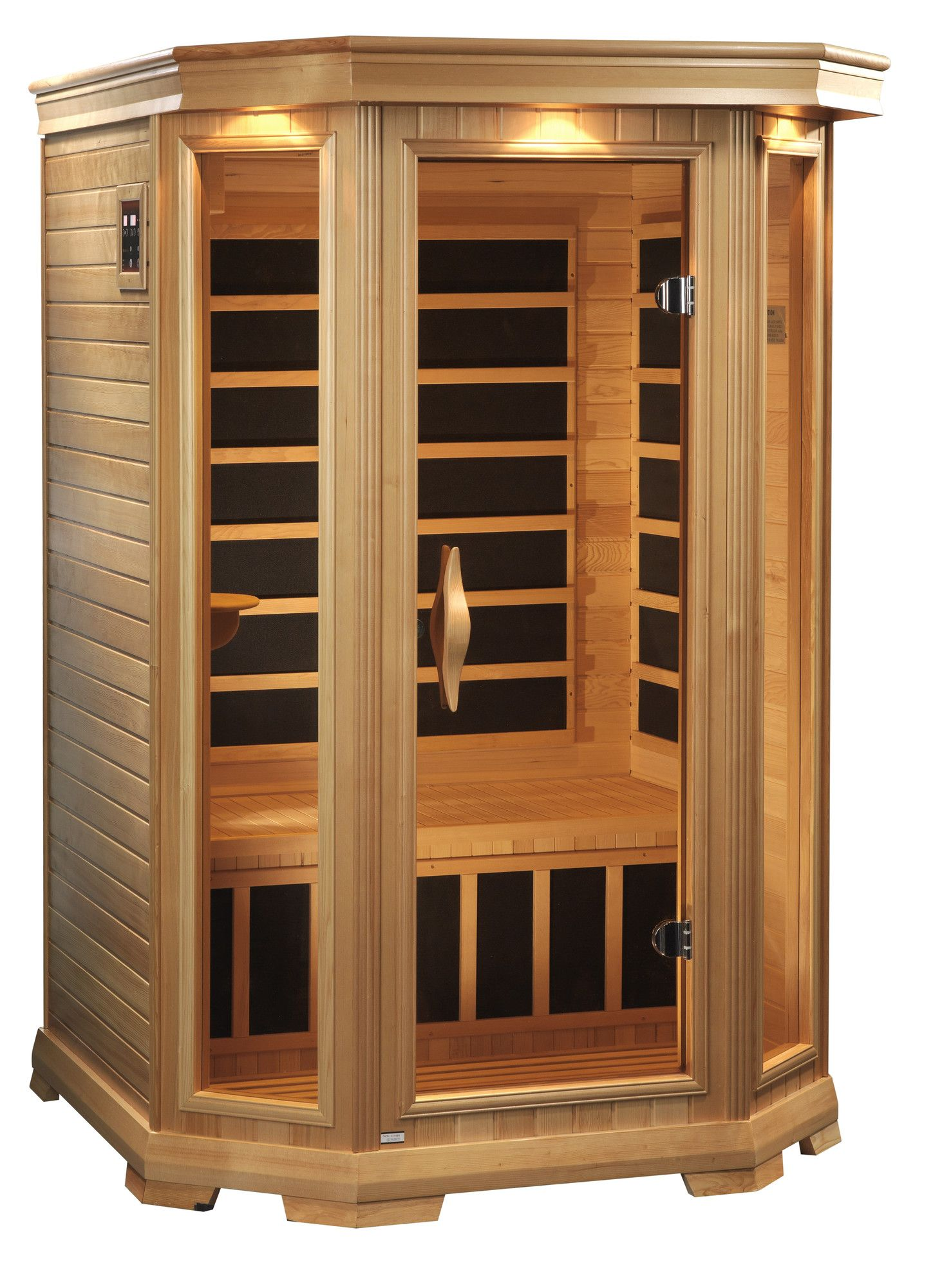 Venture 2 Person Low Emf Far Infrared Sauna Pure Life Energy Saunas Wood Sauna Infrared Sauna Dry Sauna