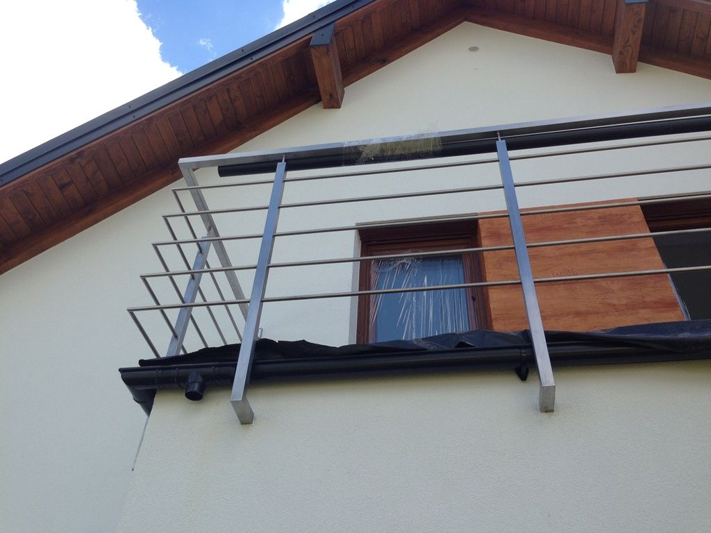 Balustrada Balkonowa Oraz Okienna Chromprojekt Rzeszów