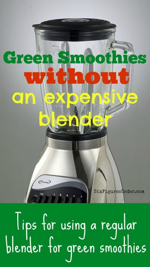 We made our second-hand blender last for nearly a year's-worth of green smoothies. If you think only a Vitamix or Blendtec will work for green smoothies, think again! Try these great tips!