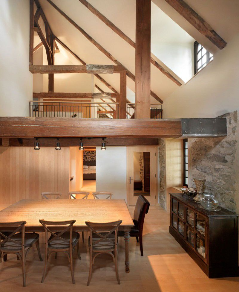 Half Vaulted Ceiling Google Search Old Stone Houses House Home