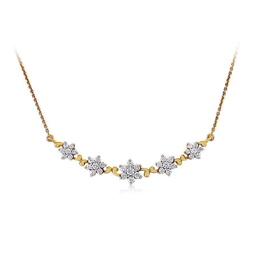 afce8583aaa6c ORRA Diamond Tanmaniya   Things to Wear   Diamond mangalsutra ...