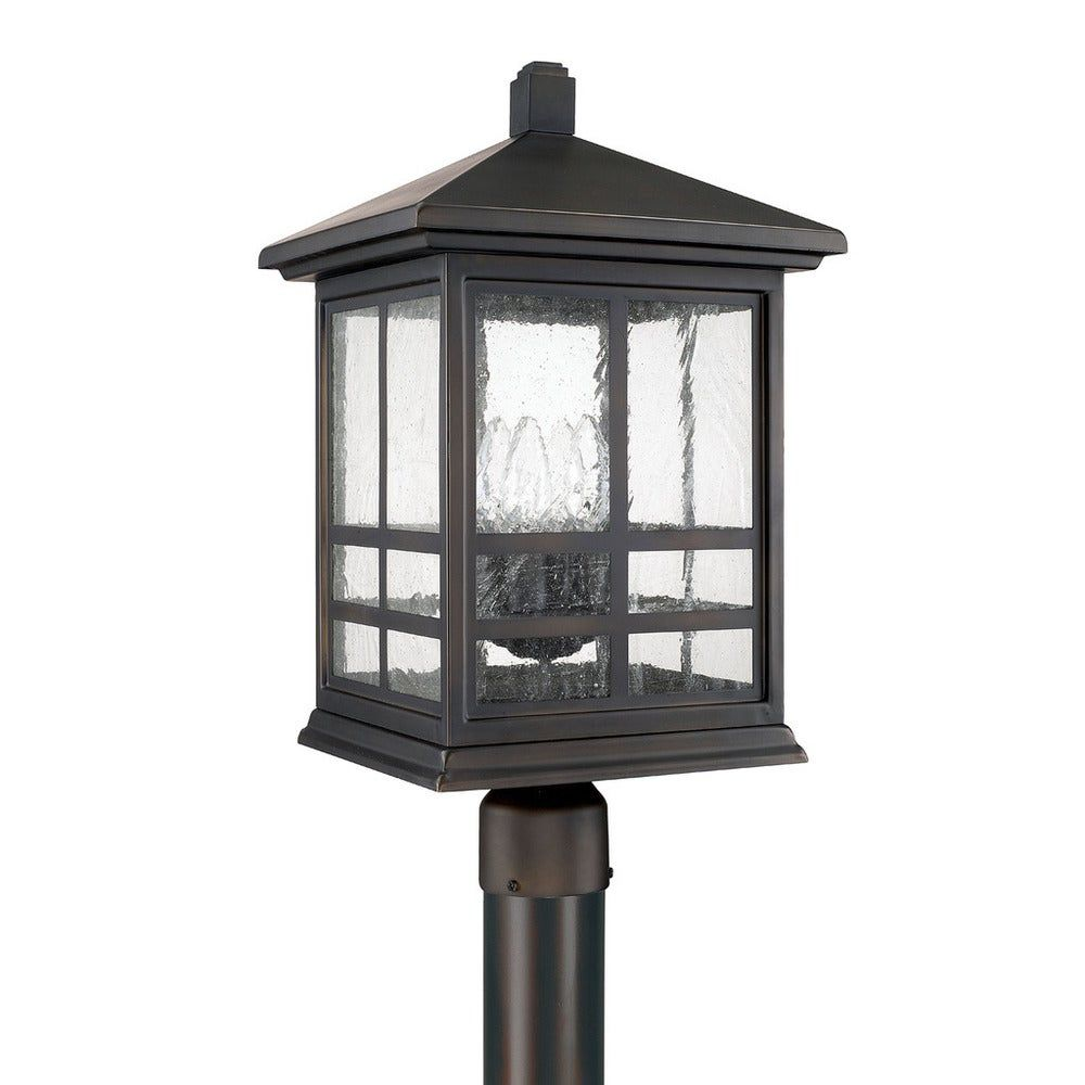 Preston 4 Light Old Bronze Outdoor Post Lantern Brown Capital Lighting In 2020 Outdoor Post Lights Lamp Post Lights Lantern Post