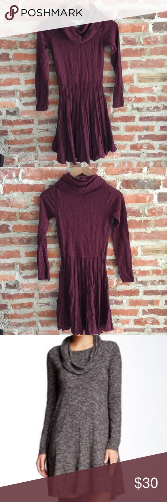 Max Studio Cowl Neck Sweater Dress | Studios, Flats and Colors