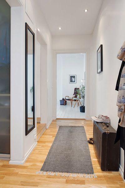 7 ideas para aprovechar pasillos y entradas no te lo - Ideas para pintar un pasillo ...