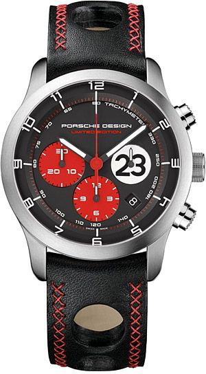 3ae521319d5 Porsche Design P 6612 Dashboard Le Mans 1970 Watch. Touch of red..like!