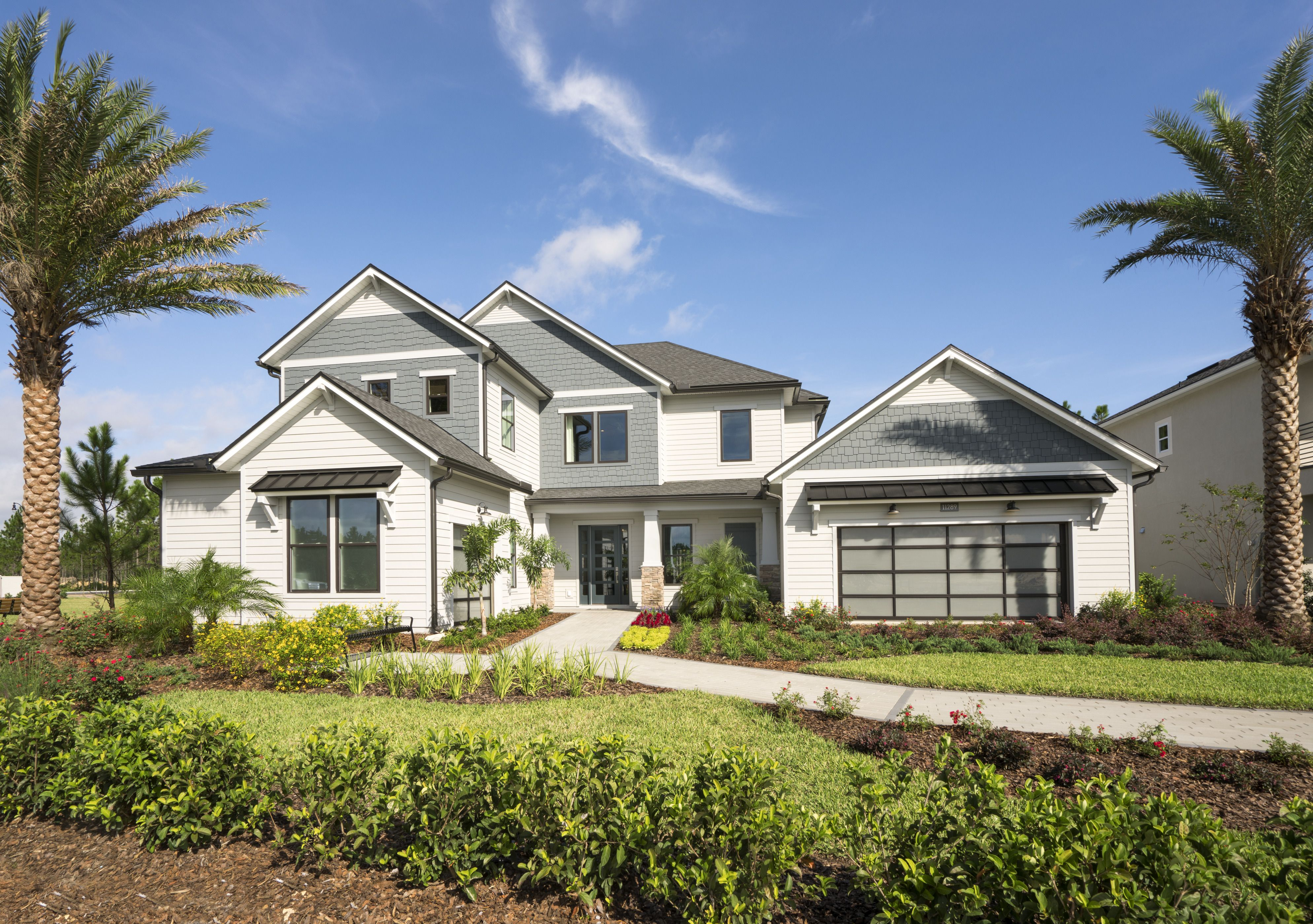 A Modern Craftsman Exterior That Excites Pictured Above Edison