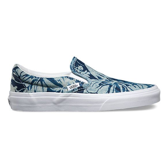 Indigo Tropical Slip-On | Shop Shoes | Slip on shoes, Slip ...
