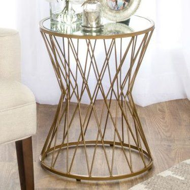 Pin By Simin Golafshan On 1st Floor Metal Accent Table End Tables Metal End Tables