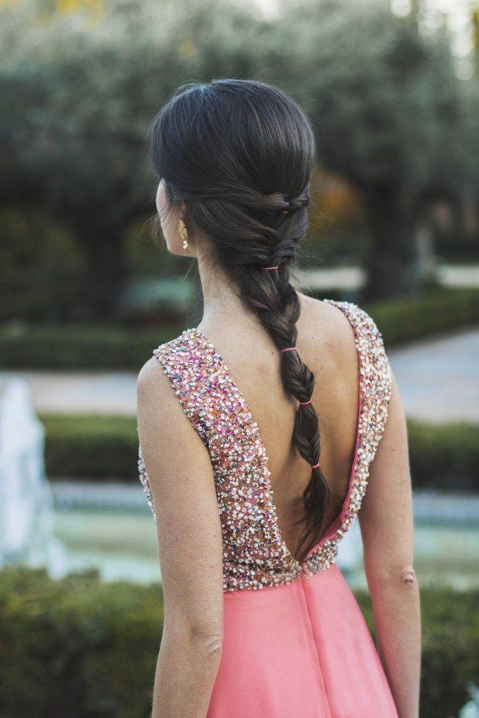 Peinado Trenza Espiga Burbujas Invitada Boda Style Up En 2019