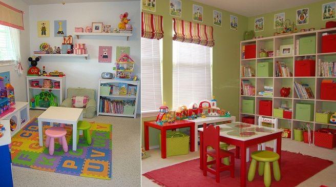 Ideas para decorar un cuarto de juegos ideas para el - Juegos para decorar habitaciones ...