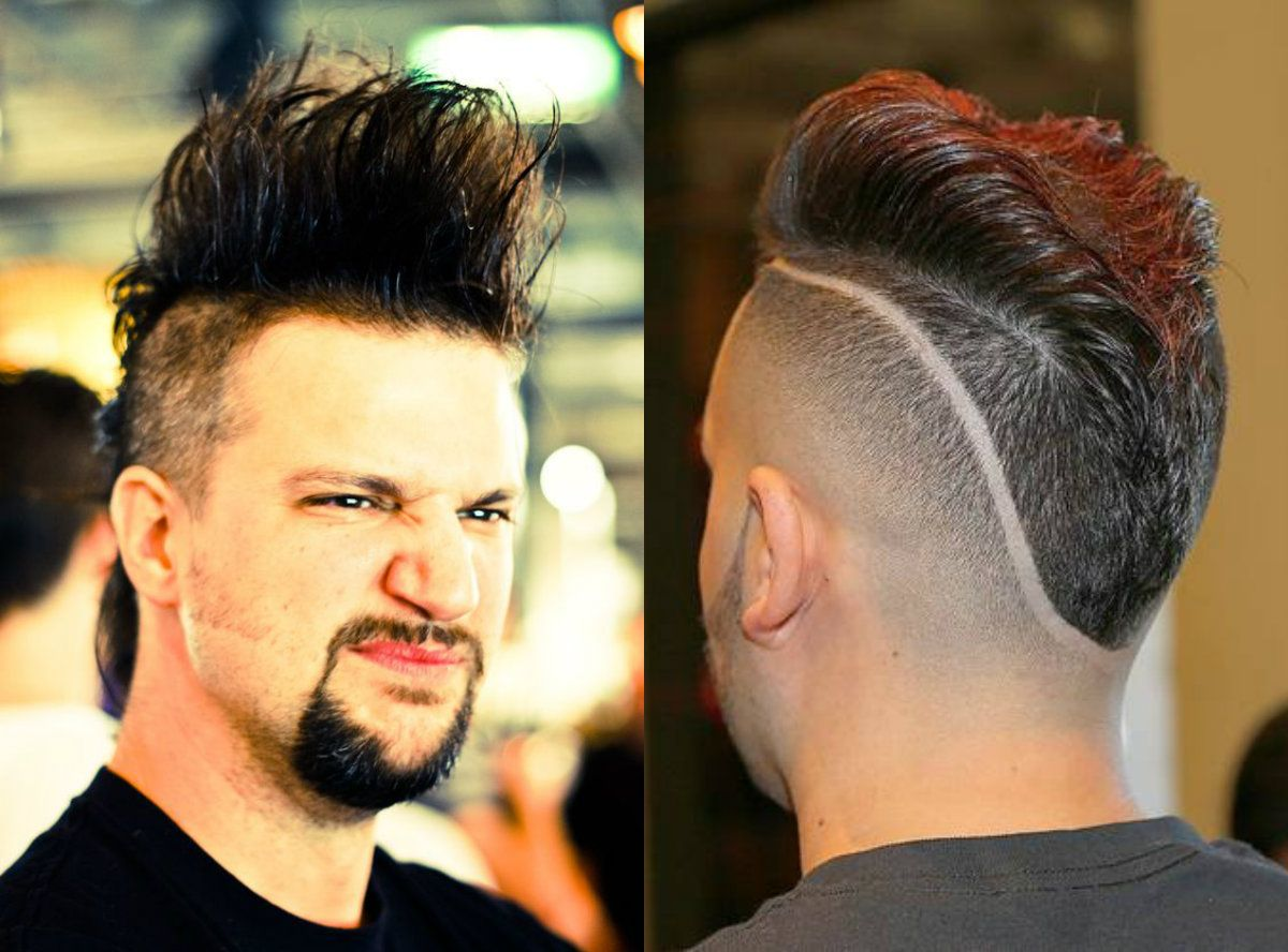 Real Men S Mohawk Hairstyles