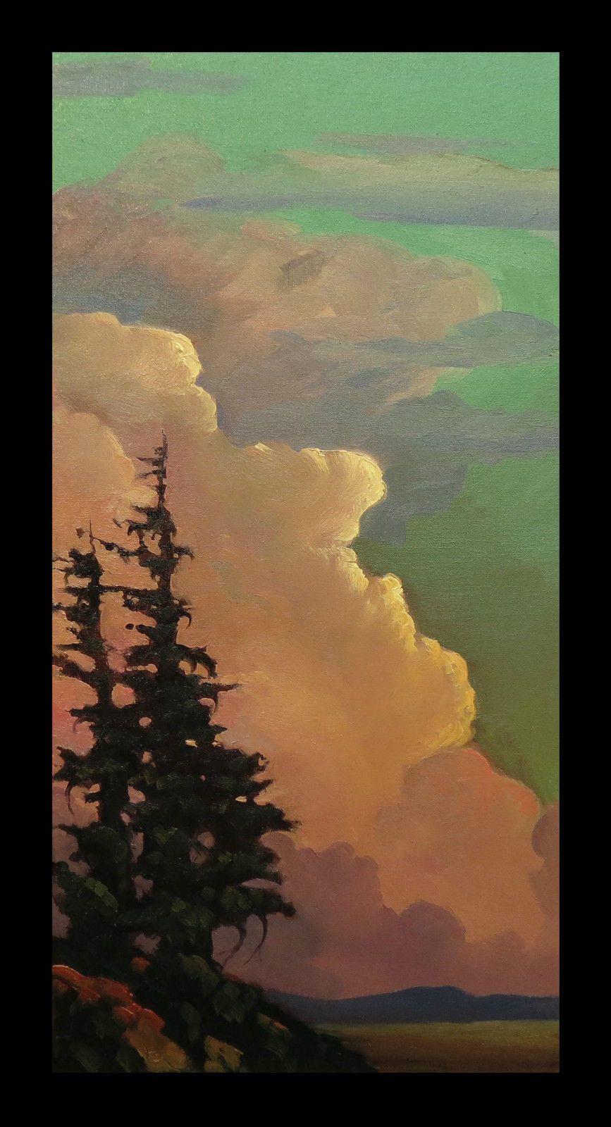 William Hawkins Painting Landscape Art Sky Painting Landscape Paintings