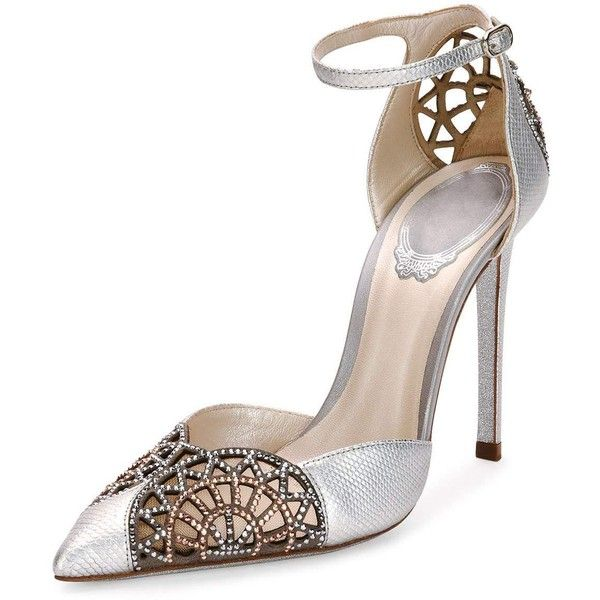 René Caovilla Embellished d'Orsay Pumps sale 2015 new cheap wholesale price hot sale cheap price sale 2014 unisex Via7rsaH