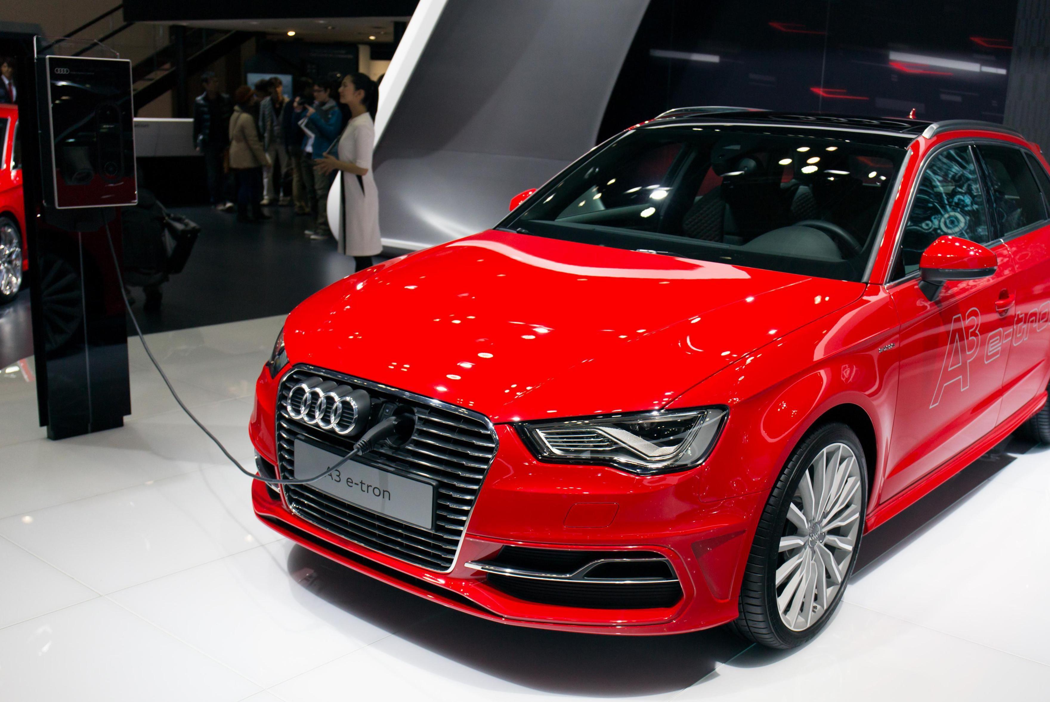 Audi A3 etron model