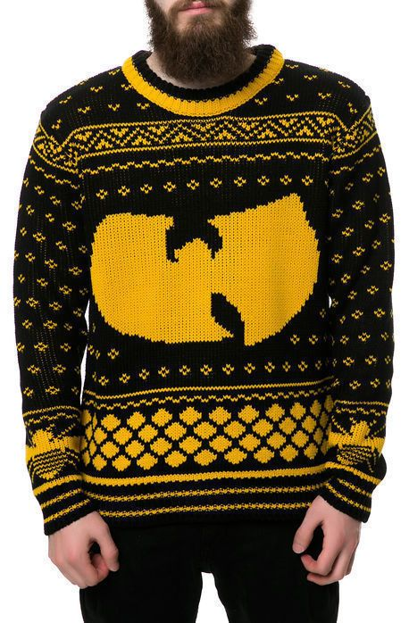New Wutang Clan Christmas 36 Chambers Xmas Jumper Holliday Sweater