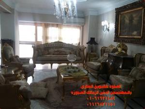 شقه مفروشه فيو رائع على نادى الصيد بالمهندسين Home Decor Furniture Decor