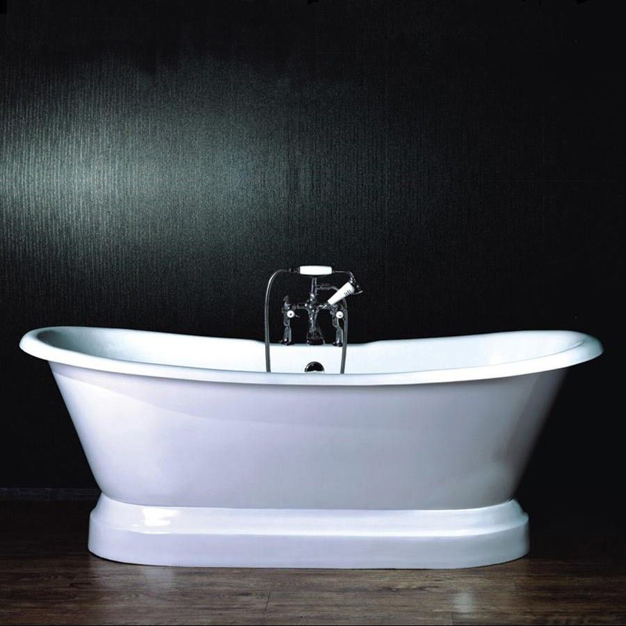 1870 Zurich Freestanding Cast Iron Bath 1800 Mm In A Double