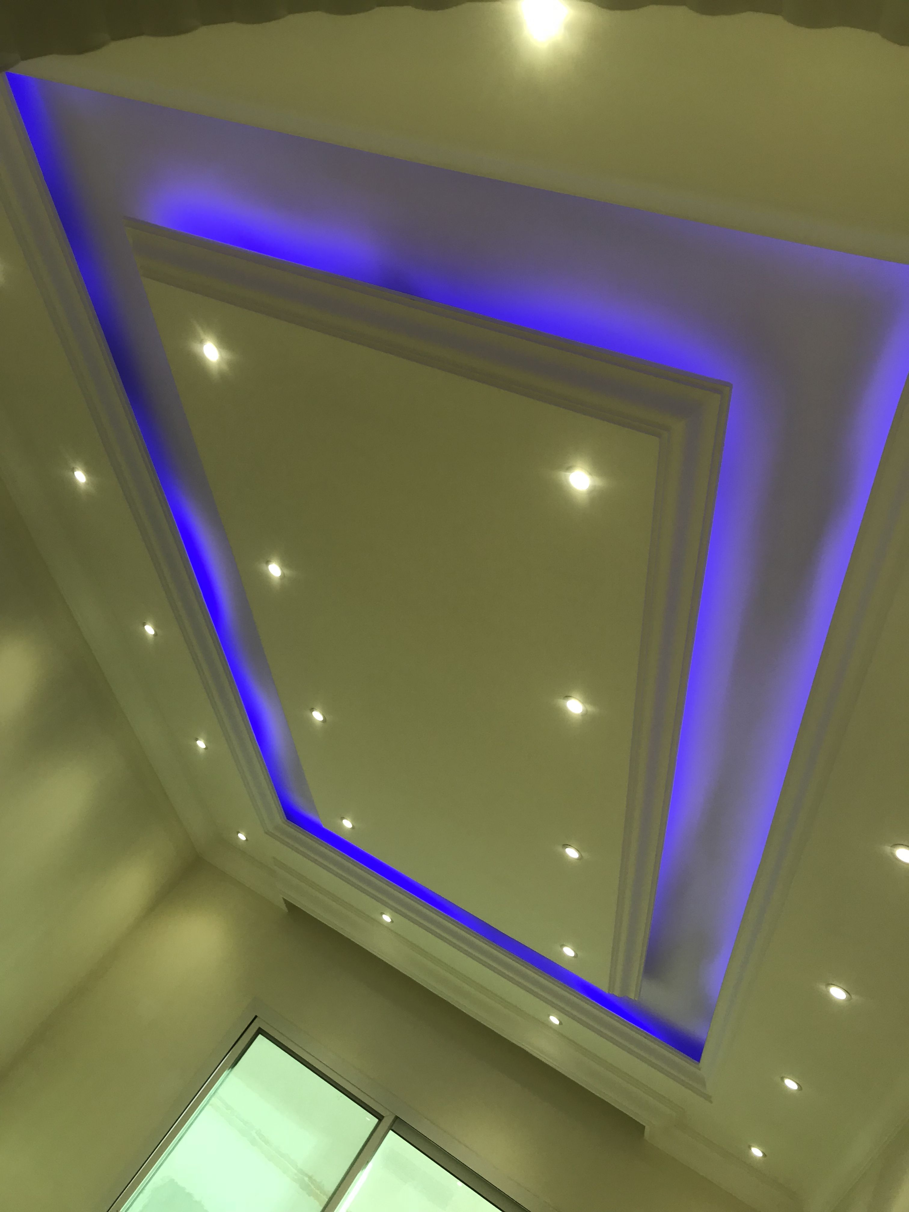 Pin On Ceiling With Cove Lights
