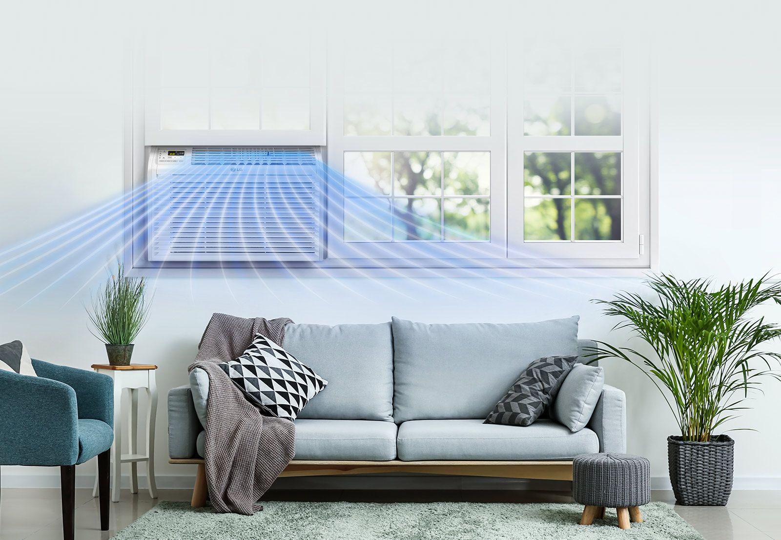 LG LW6017R 6,000 BTU Window Air Conditioner LG USA in