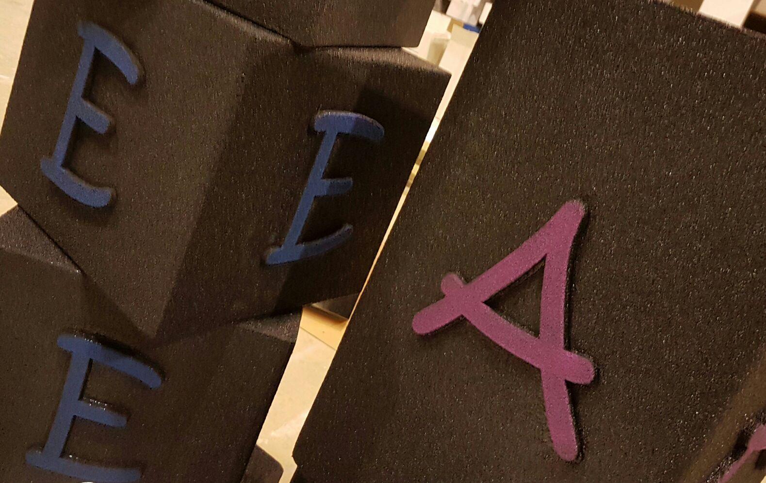 Cubi personalizzati #polymass #arredamento #design #custommade #bedifferentitaly #tuscany #madeinitaly #alphabet