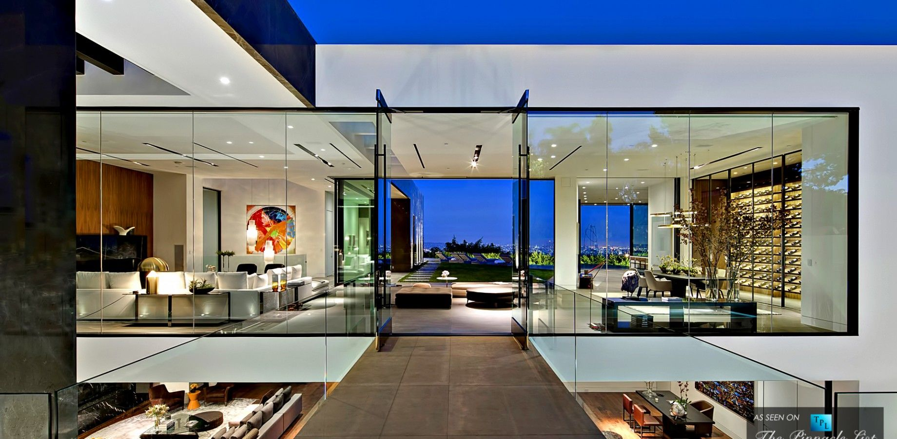 2995 million luxury residence 1442 tanager way los angeles ca luxury homes interiormodern - Modern Luxury Homes Interior Design