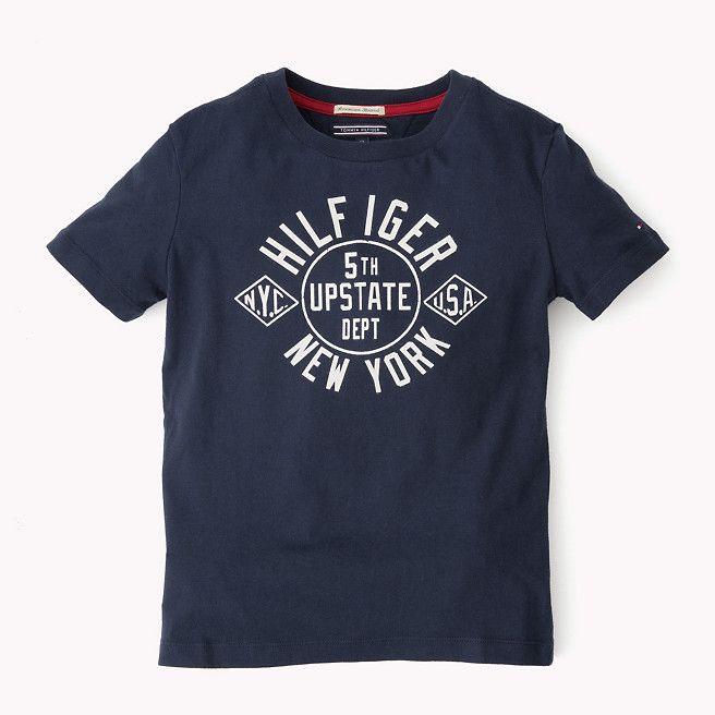 Tommy Hilfiger Nylan T-shirt - black iris (Blue) - Tommy Hilfiger T-Shirts - main image
