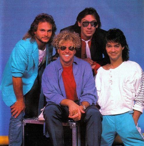 Van Halen with Sammy Hagar 1986