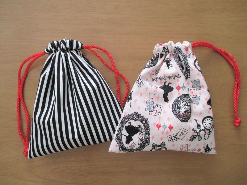 かわいい!!裏地付き巾着袋の作り方の作り方|フェルト|編み物・手芸・ソーイング|アトリエ