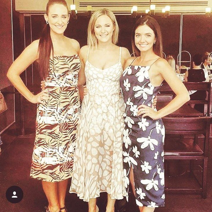 3aec6a1c54 Our lovely client wearing our KOOKAI  Kendra  dress available for hire now! Visit  our website or call our Melbourne showroom to book.