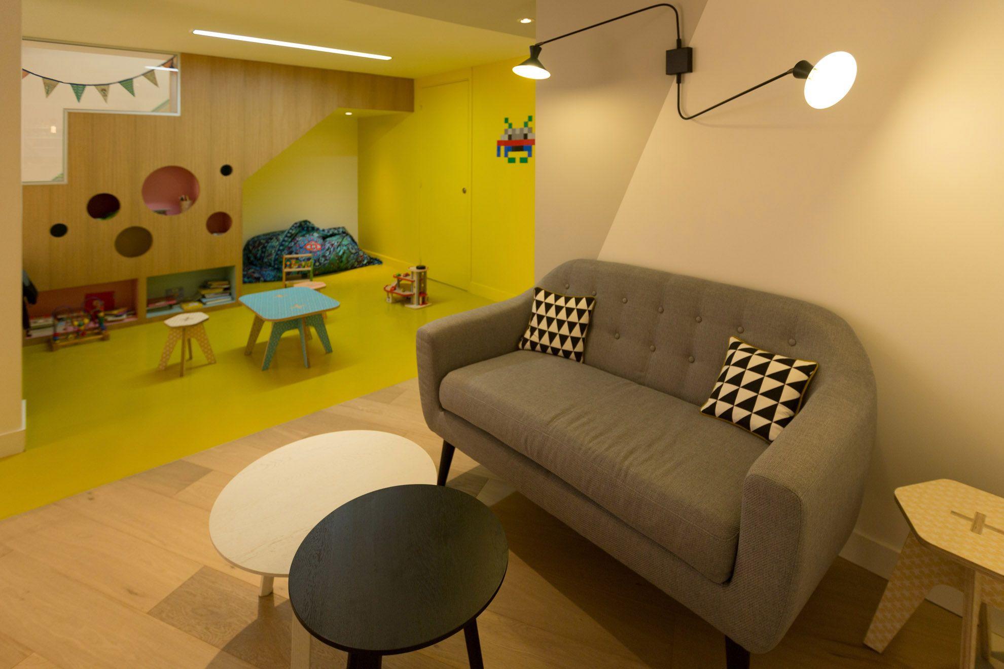 The game space near the coffee   dizajn   Pinterest   Kids cafe ... 90d3a6b0cc7f