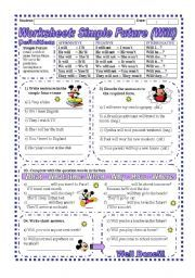 Grammar For Beginners Simple Future Tense Exercises Worksheets Pdf further  furthermore  in addition Write Verb in each Sentence in Future Tense Form Worksheet   Turtle in addition 224 FREE Future Simple Worksheets also Worksheet On Simple Future Tense   Free Printables Worksheet likewise Verb Tenses Worksheets  Past  Present  Future  Simple  Perfect as well  furthermore Past Simple Worksheets For Beginners Simple Future Tense Exercises furthermore Simple Future Tense Worksheets Simple Future Tense Worksheets Grade further Quiz   Worksheet   Future Simple Tense in French   Study as well  besides Future simple  future continuous and future perfect   Grammar as well  likewise Verbs Exercises Worksheets Simple Past Tense Worksheet Grammar likewise FUTURE SIMPLE  FUTURE CONTINUOUS OR FUTURE PERFECT   ESL worksheet. on worksheet on simple future tense