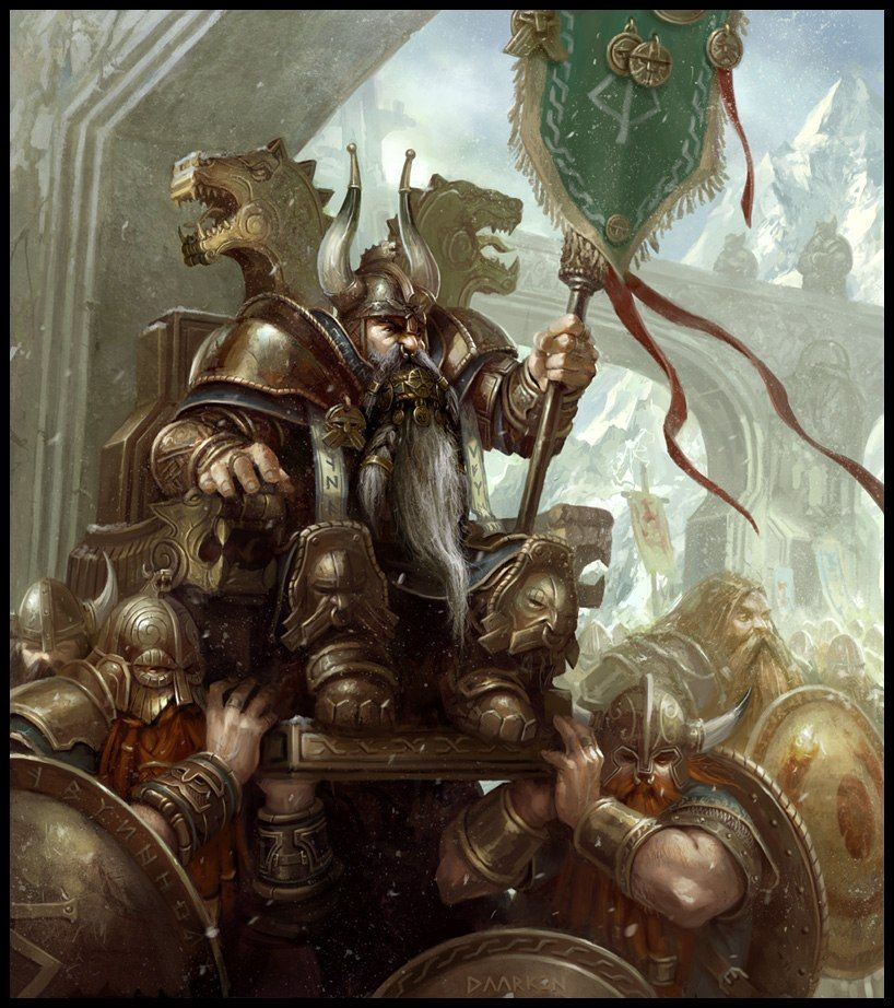 Image of dwarves in Norse mythology