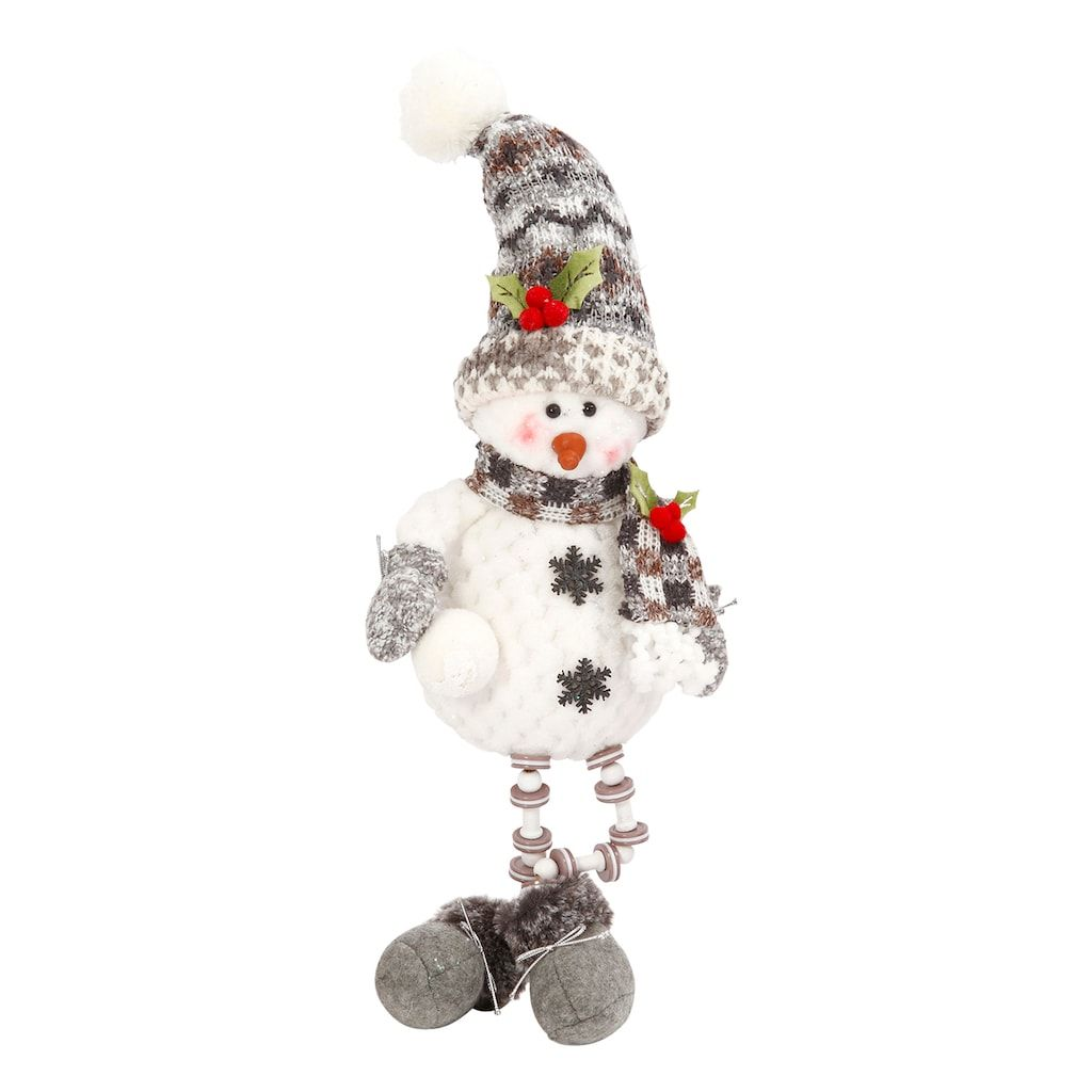 Gerson Winter Snowman Table Decor, Multicolor