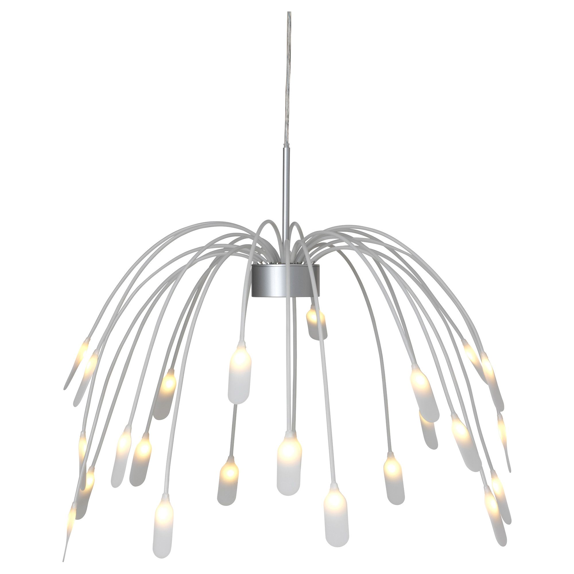 Hggs led pendant lamp ikea decorating ideas pinterest i love this lamp hung upside down so it looks like a bouquet of perky flowers instead of a hanging plant hggs led pendant lamp ikea leds glow at the end arubaitofo Images